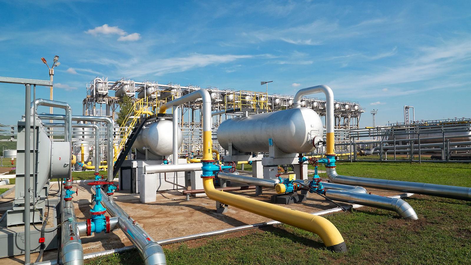 Завод по переработке газа