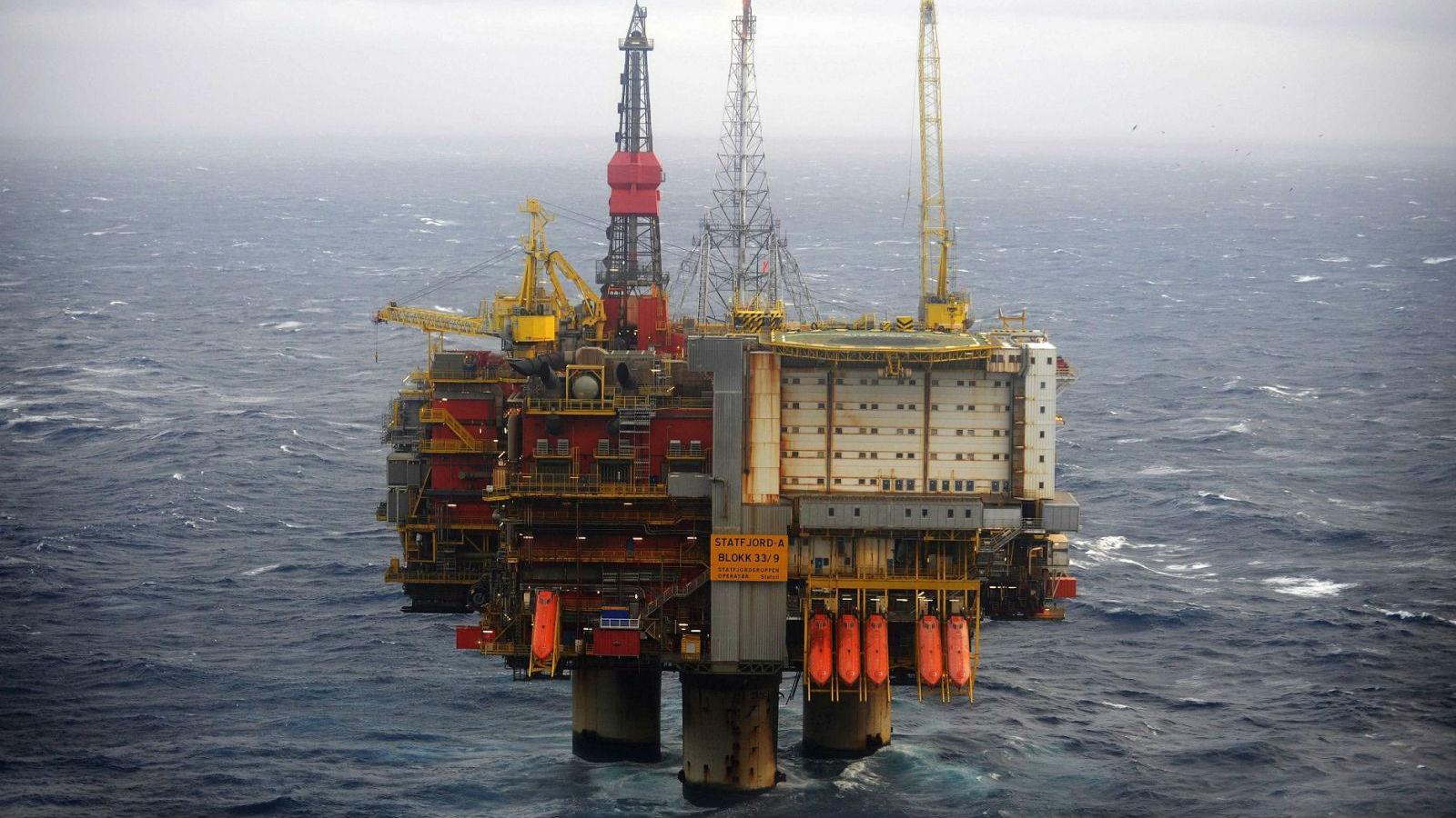 Нефтяная платформа Statfjord