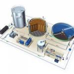 Биологическая очистка сточных вод нефтеперерабатывающего завода