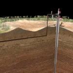 Работа нефтяной скважины 3D анимация