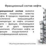Фракции нефти и нефтепродуктов